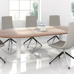 Forum Oval Meeting Table W Metal Frame For 8 10 Persons Sohomod Com