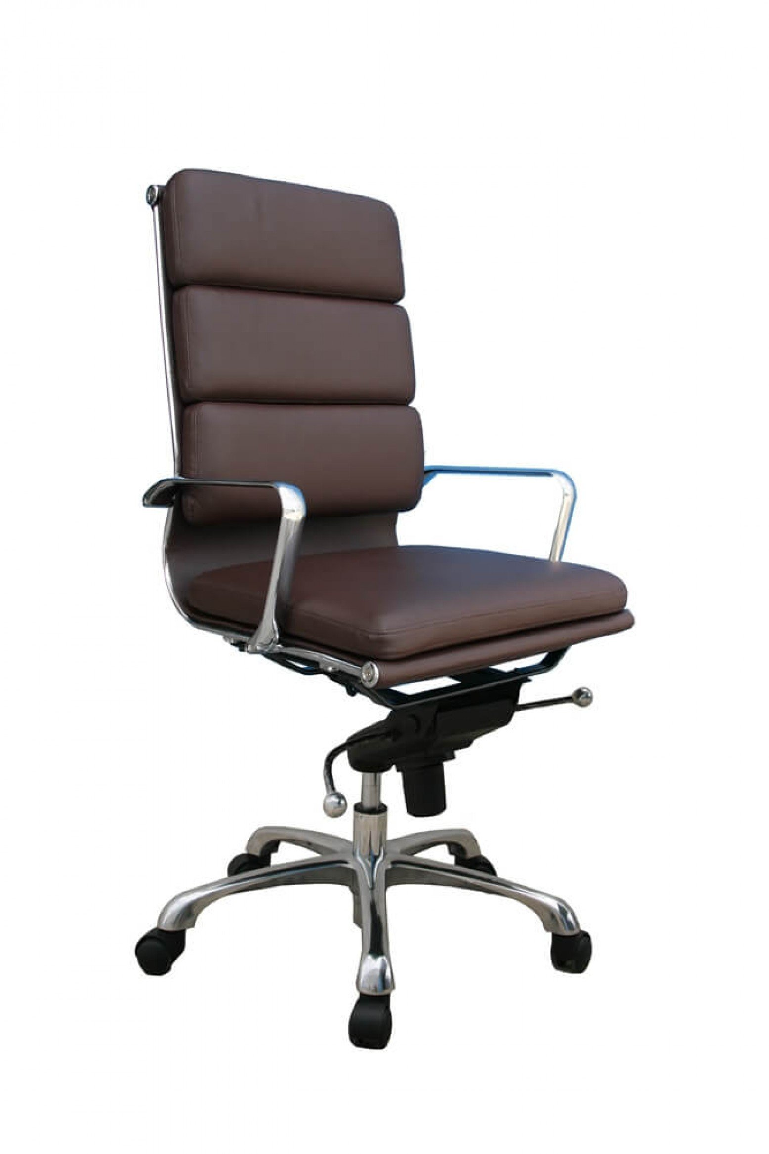 Plush High Back Adjustable Swivel Office Chair by JM