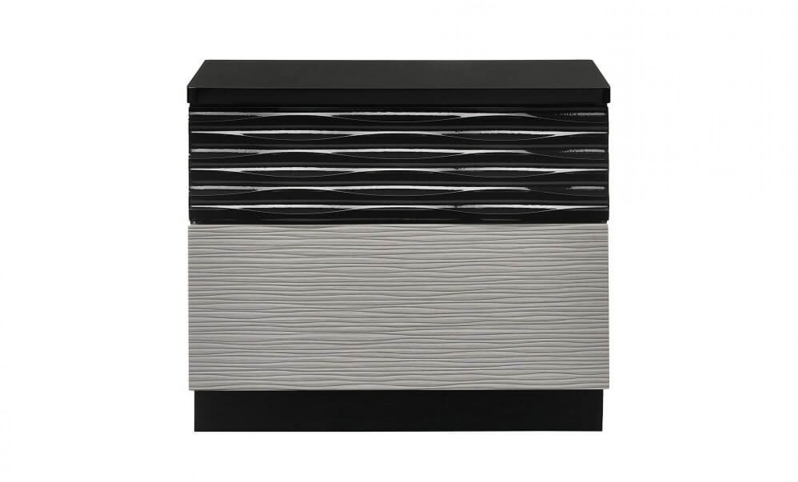 Roma Modern Lacquer Nightstand