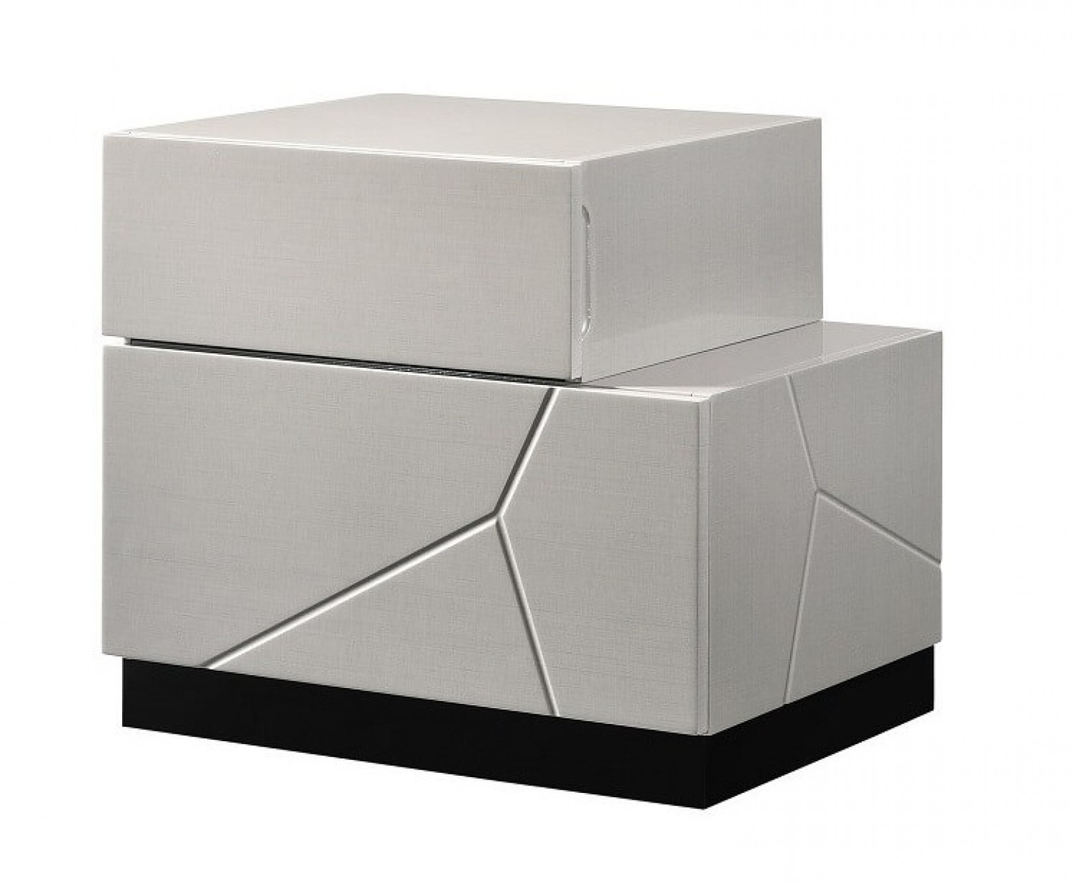 Turin Modern Lacquer Right Nightstand