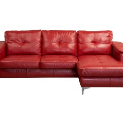 Right Arm Facing Sofa Left Chaise Modern Beds Los Angeles Frankfurt Sectional Red Leather