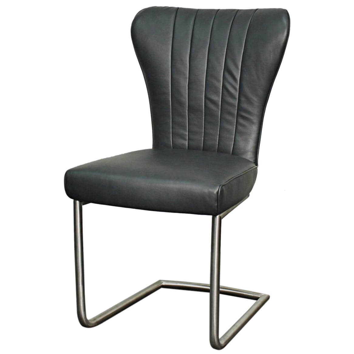 stainless steel chair legs covered folding cody pu cigar set of 2 by npd