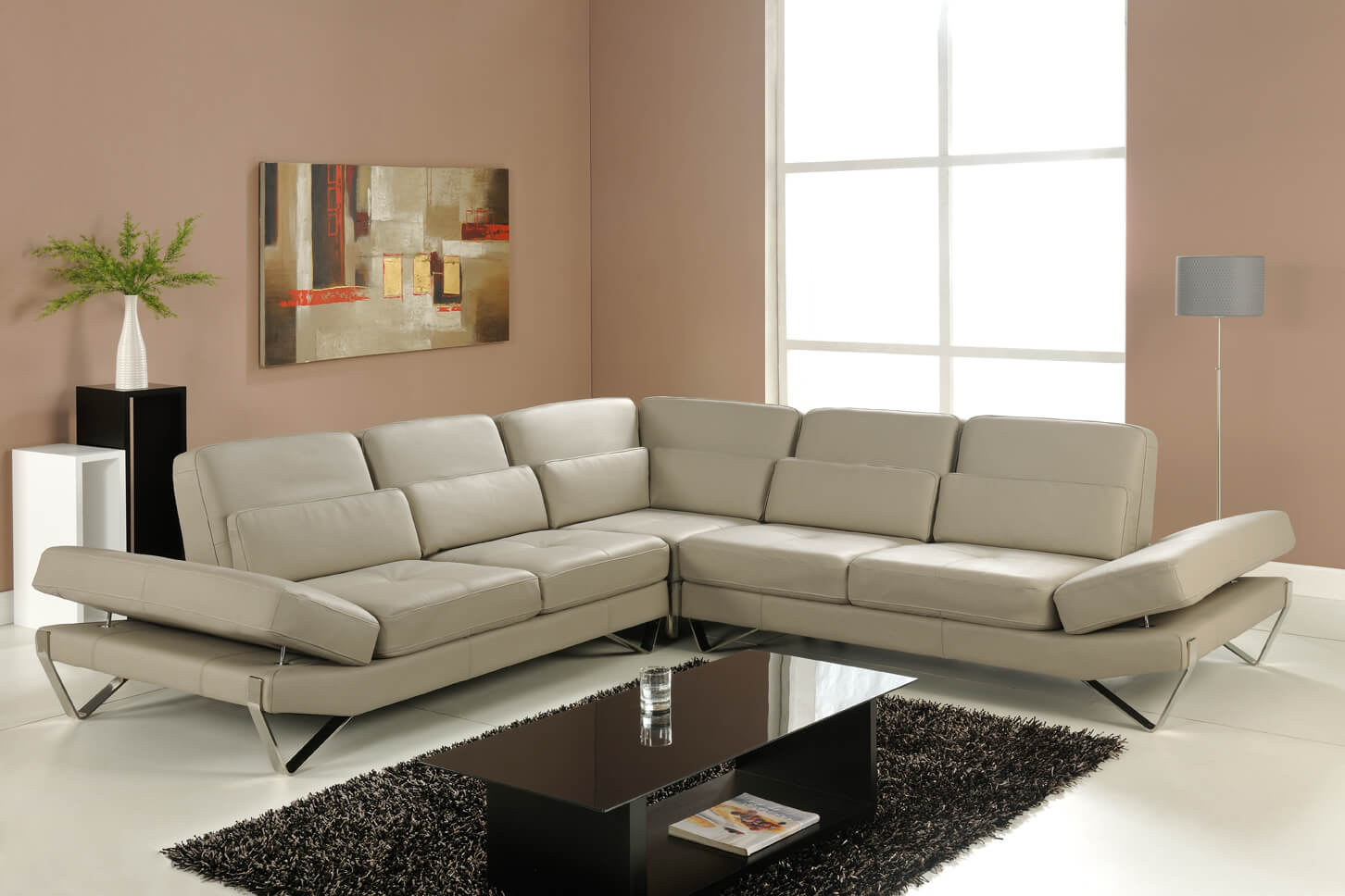bianca sectional sofa costco chaise lounge grey by at home usa