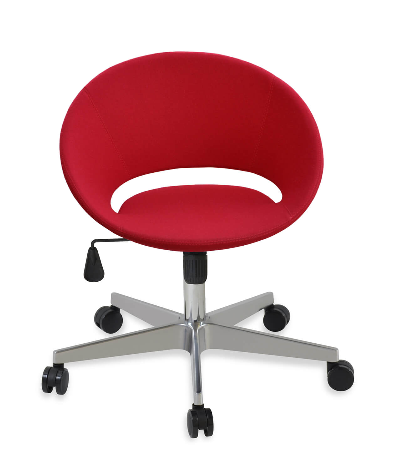 red velvet office chair casters walmart crescent base a2 gold by sohoconcept