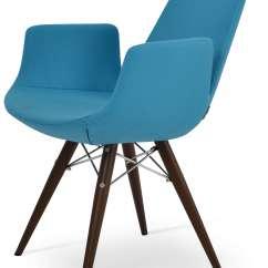 Steel Chair Cost Swing Ceiling Eiffel Arm Mw Plus Walnut Veneer Phistacio