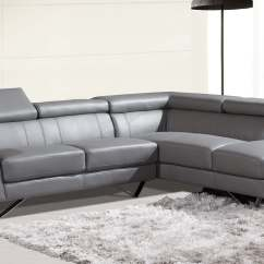 Right Arm Facing Sofa Left Chaise Without Backrest Sf6201 Sectional Grey Buy