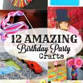 12 birthday party craft activities for kids sohosonnet creative