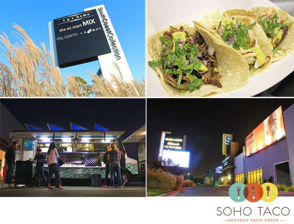 GOURMET FOOD TRUCK Dinner 5P Tonight  SoCo Collection of