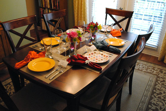 Image result for table with dinner