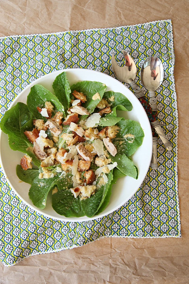 Klasična Cezar salata