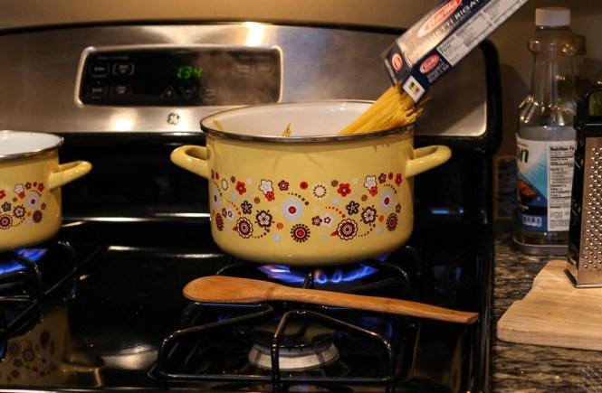 kuvanje testenine