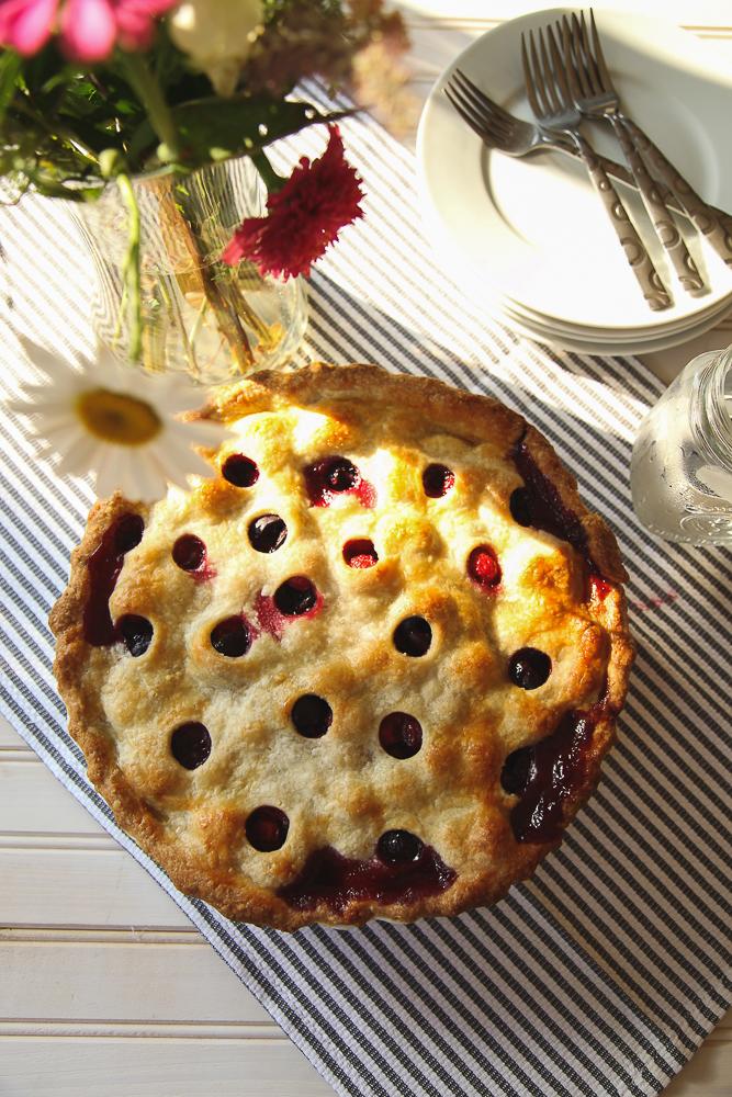 Američka pita od višanja i trešanja (Cherry pie)