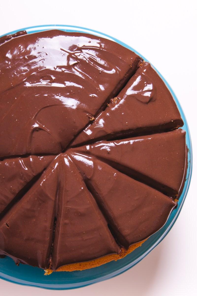 Torta sa pudingom od čokolade