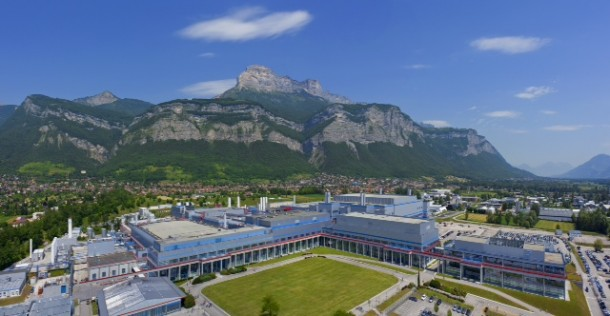 STMicroelectronics fab in Crolles, France