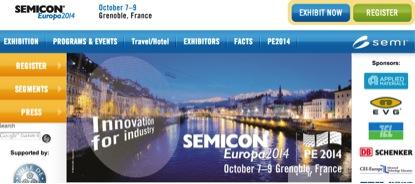 SemiconEuropa14_Grenoble