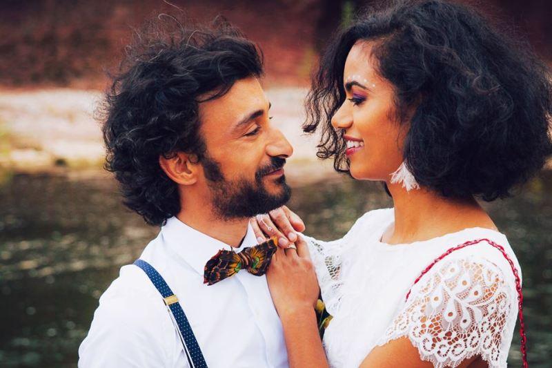 Le couple de marié soiephemere