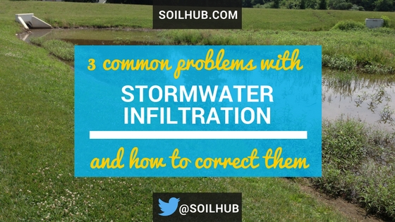 3 Common Problems with Stormwater Infiltration and How to Correct Them