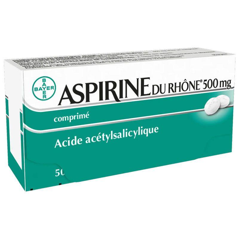 Rhone Aspirin 500mg Bayer 50 Tabletten zum Verkauf in der