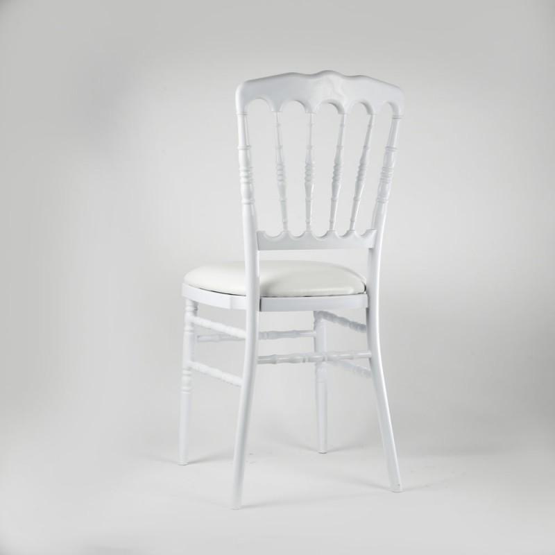 Chaise blanche Napolon