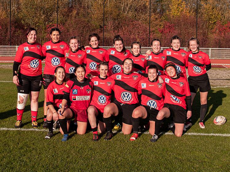 Photo de l'équipe des Ruby's