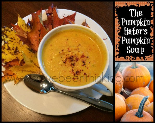 The Pumpkin Hater's Pumpkin Soup