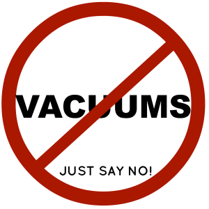 Why You Should Never Vacuum, Ever from soivebeenthinking.com