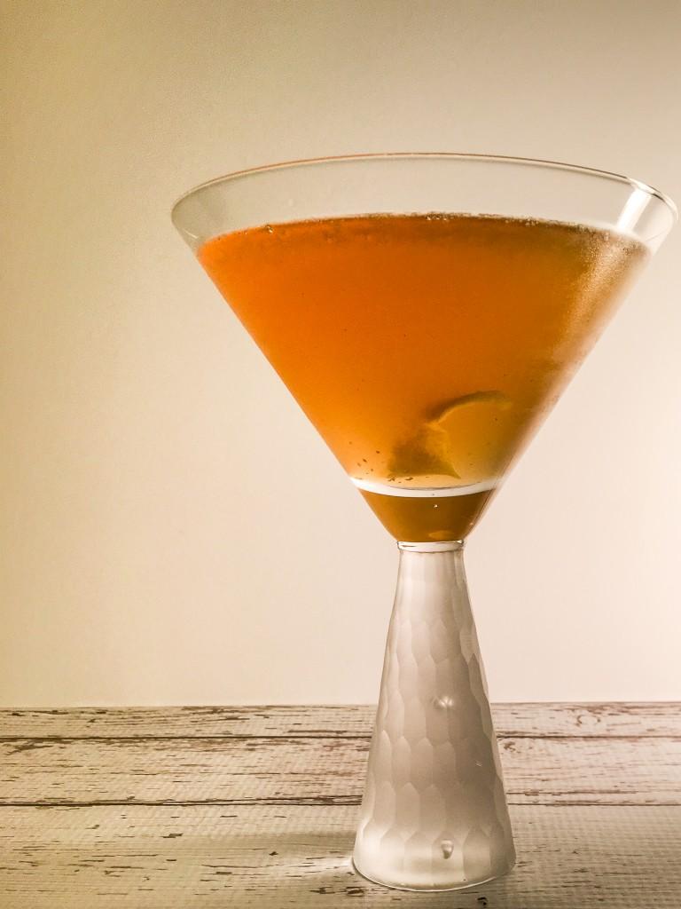 Cinnamon Apple Cider Manhattan, Steph Rufa Photography