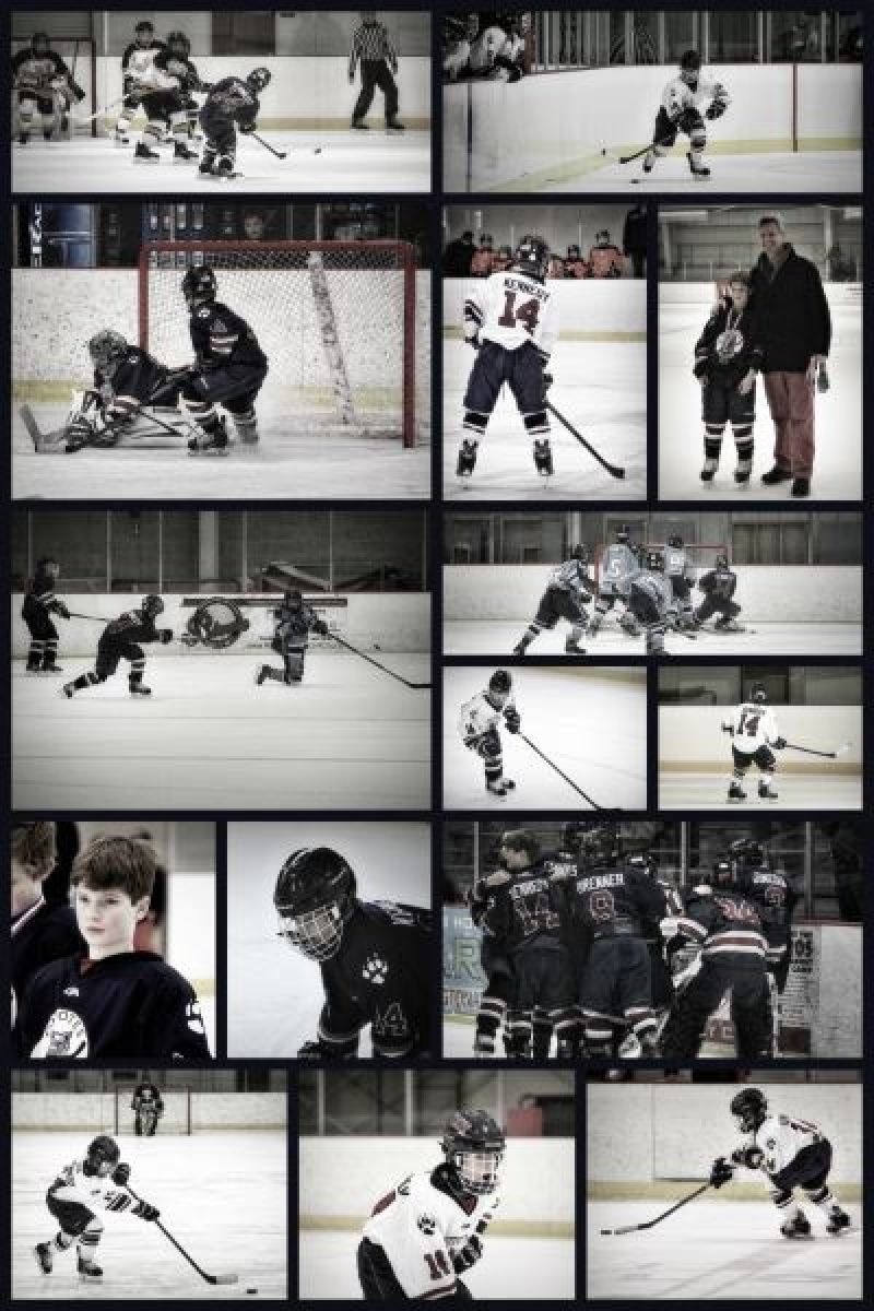 soivebeenthinking.com Steph Rufa Photography custom hockey sports posters
