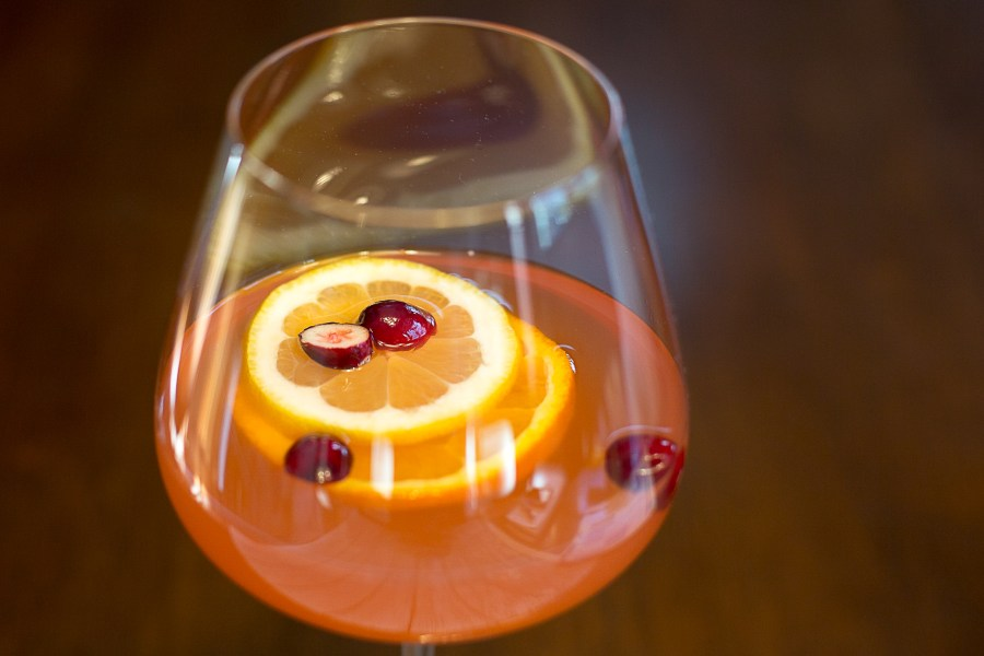 Cranberry Orange Sangria