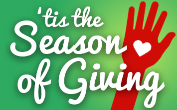 'Tis the season of giving!