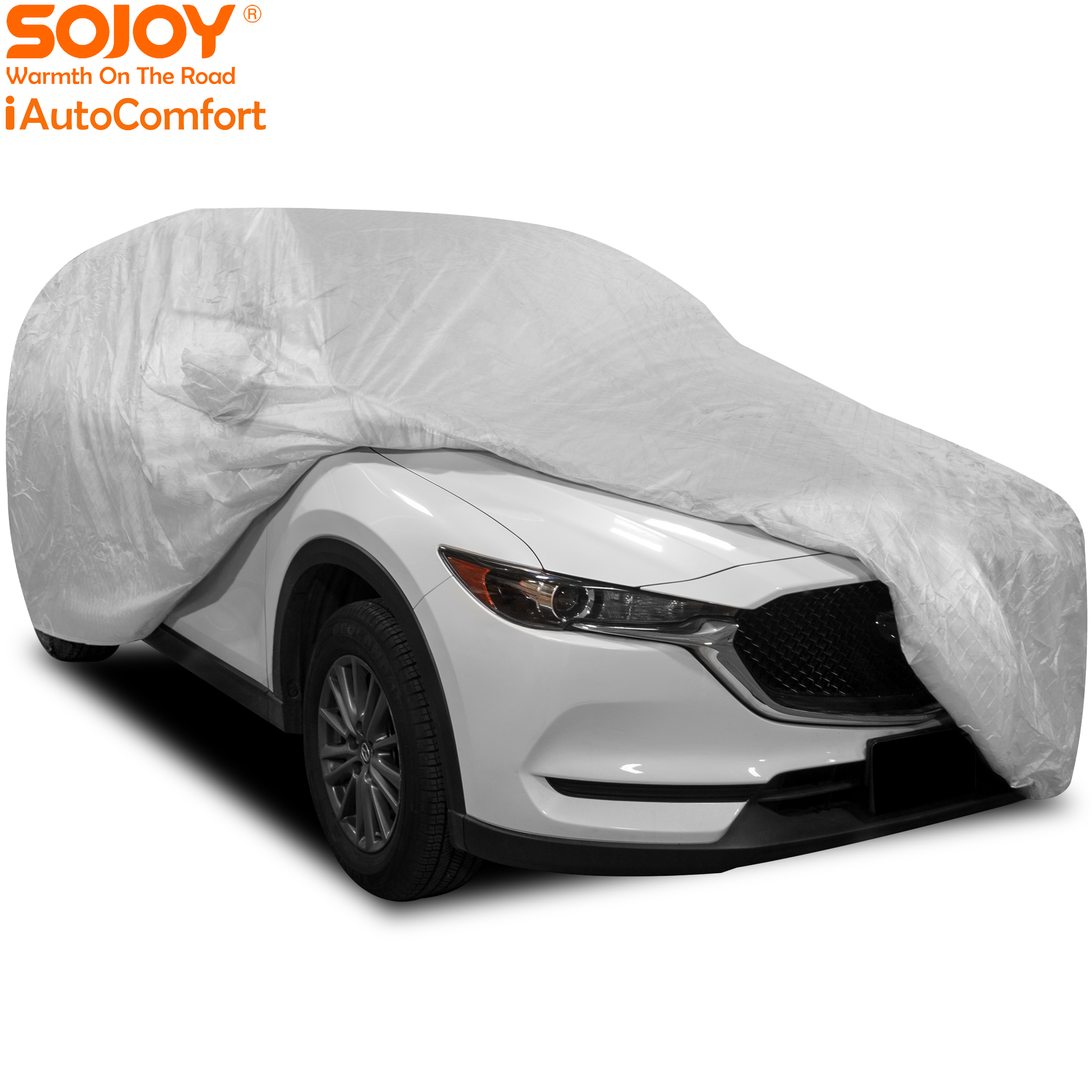 Hail Car Cover Heavy Duty Full Vehicle Cover All Weather Waterproof Scratchproof