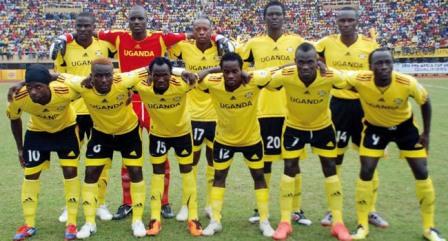 Uganda Cranes posing for a photo