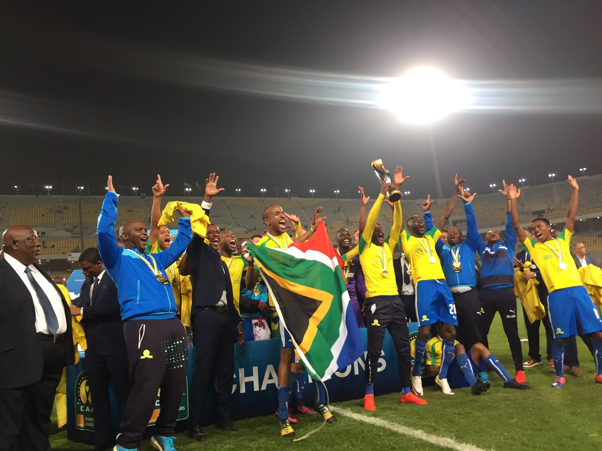 Mamelodi Sundowns crowned new Caf Champions league champions