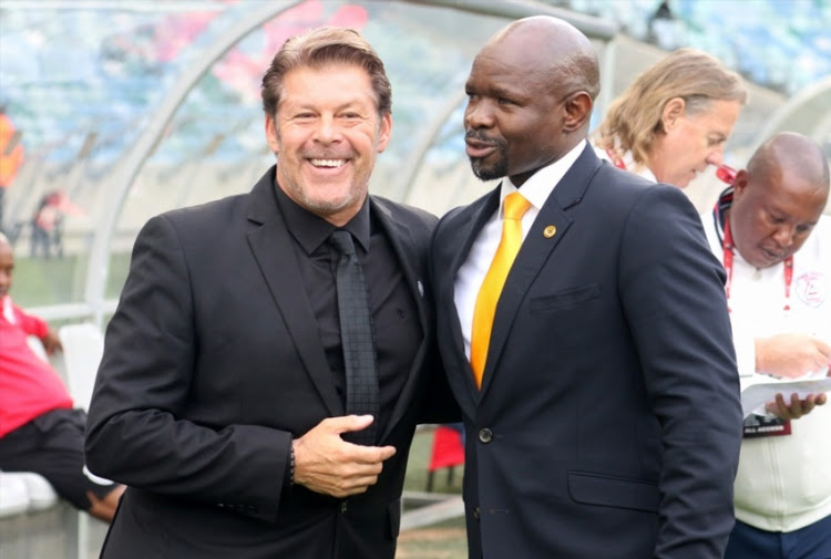 Absa Prem: Steve Komphela tells Luc Eymael not to come back to South Africa