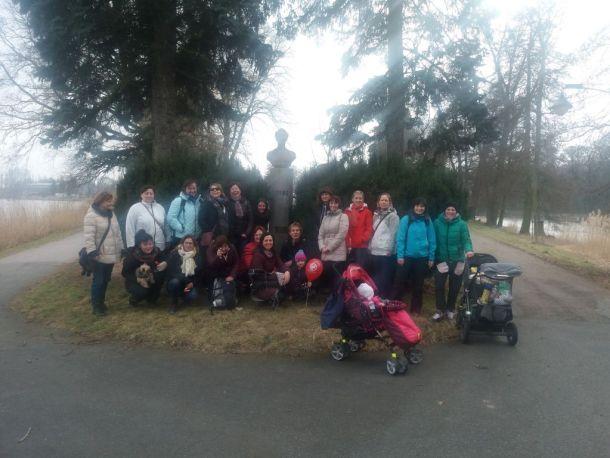 Březnové cvičení v Poděbradech 2018 - Zastavení u Tyrše