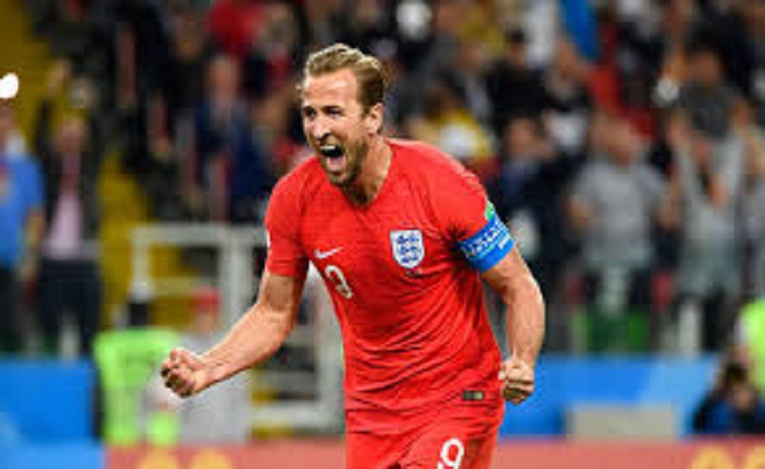 Harry Kane in a goal jubilation