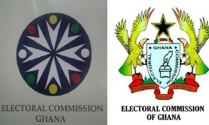 EC ditches controversial Charlotte Osei logo, restores old logo