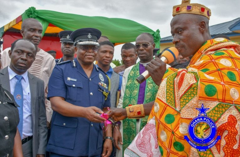 ACTING IGP COMMISSIONED OKYEREKO POLICE STATION