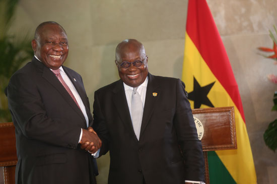 Ghana, South Africa to strengthen relations