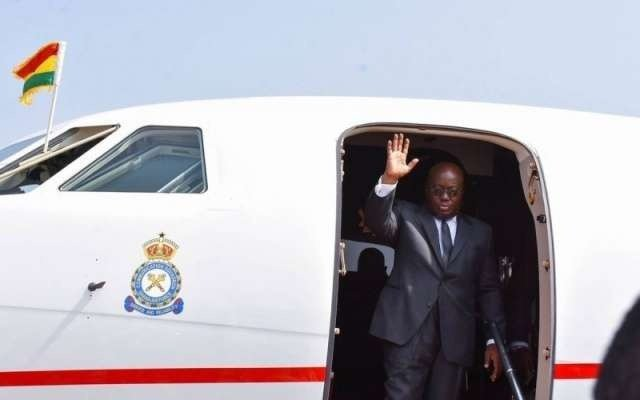 President Akufo-Addo on a 12-day visit to 5 European countries