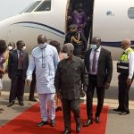 Some heads of state arrive for President's investiture