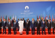 Buhari at Gas Summit