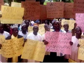 Protest, kano, emirates, emirs