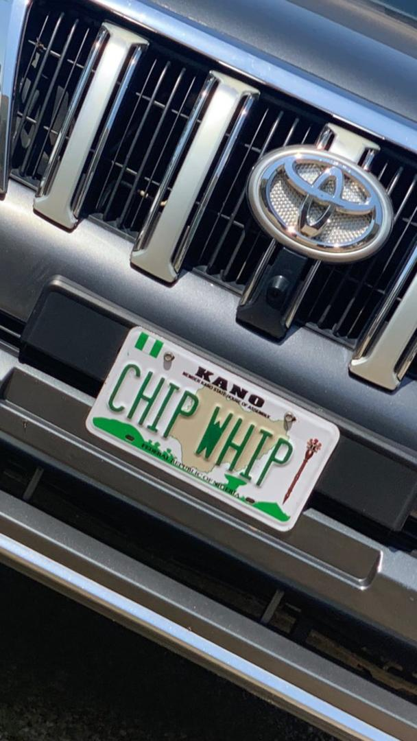Fake Plate Number