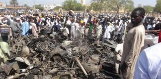 Kano central mosque attack
