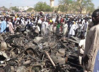 Kano central mosque attack