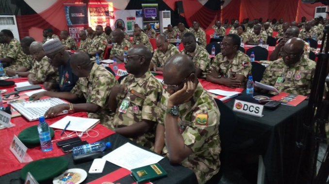 Nigerian Army promotion exercise, captain to major