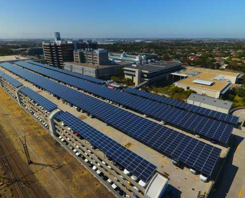Old Mutual Solar Parking lot to save millions per year
