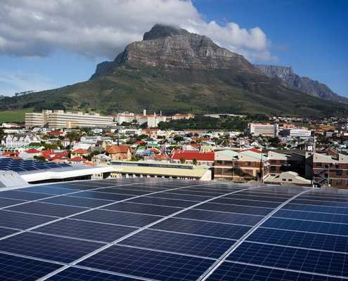 Black River Park Ground Breaking Solar PV Energy Project Cape Town SOLA Future Energy 2