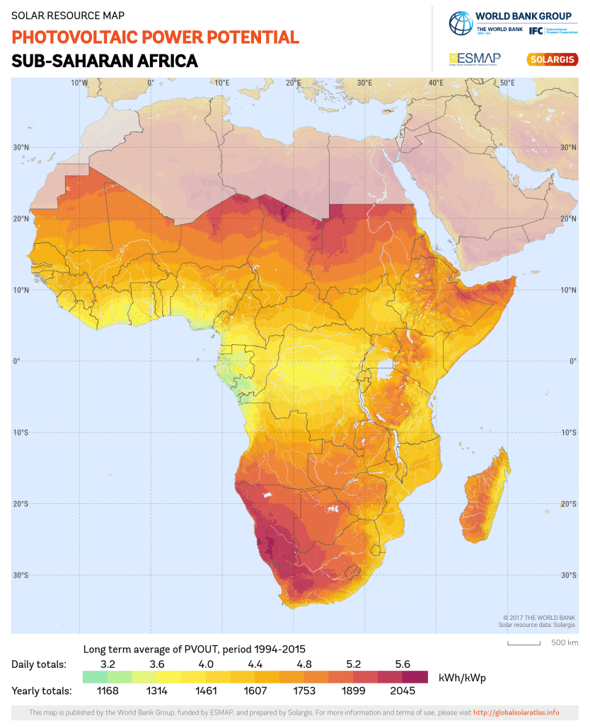 5 african countries that are perfect for solar pv sola future energy 5 african countries that are perfect for solar pv gumiabroncs Choice Image